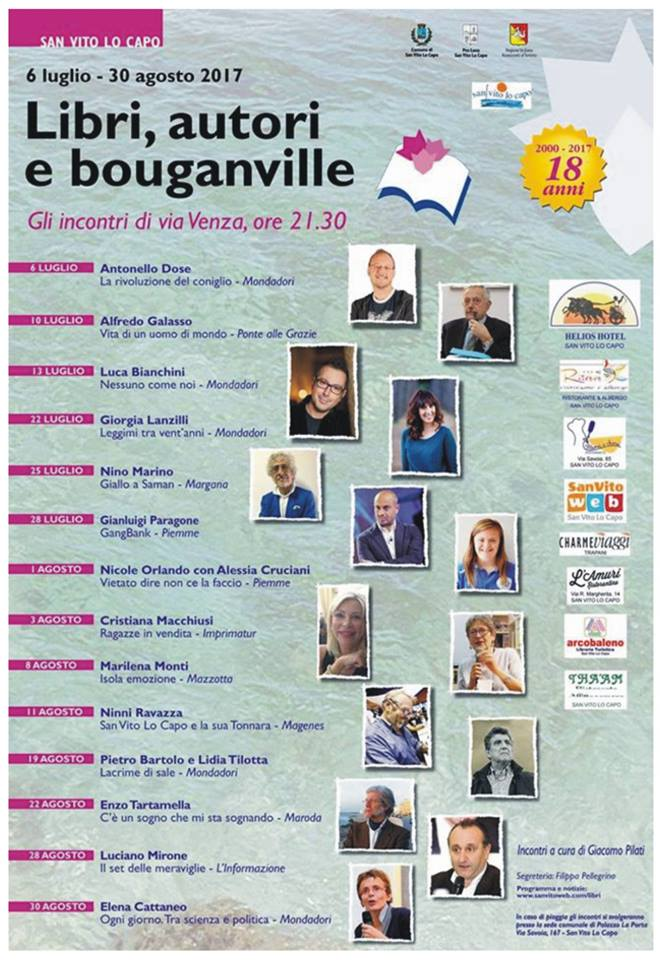 Libri Autori e Bouganvillee San Vito Lo Capo - Torre Salina